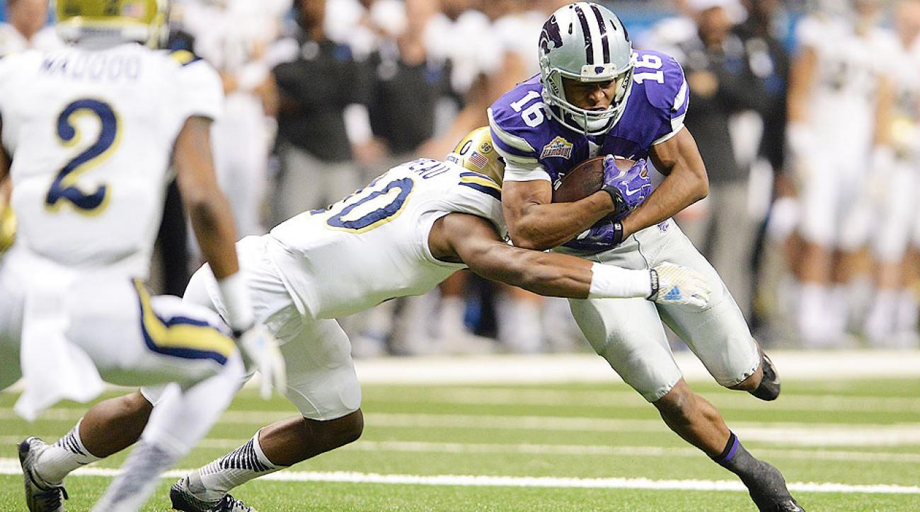 Senior Bowl Day 2 notebook: Kansas State WR Tyler Lockett stands out, LSU's La'el Collins living up to the hype