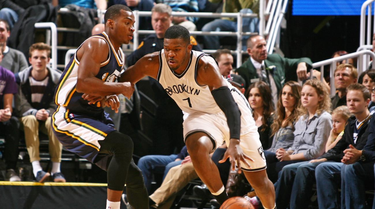 Brooklyn Nets guard Joe Johnson has been linked to the Charlotte Hornets in recent trade talks.