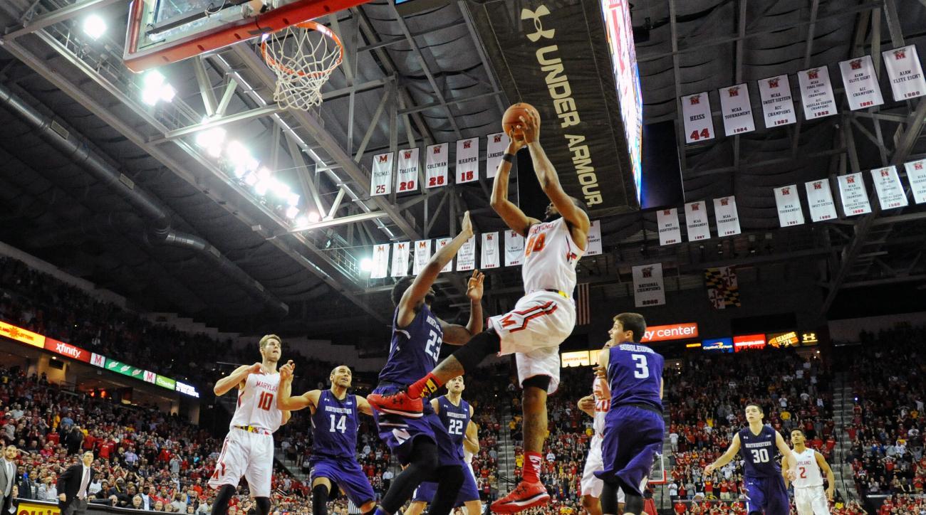Dez Wells helps Maryland beat Northwestern