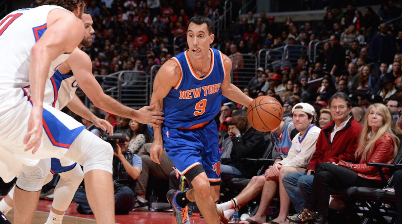 New York Knicks point guard Pablo Prigioni has been linked to the Detroit Pistons to replace Brandon Jennings.