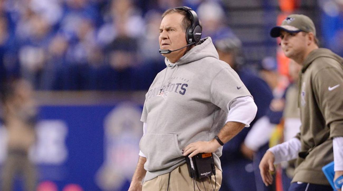 Patriots coach Bill Belichick deflategate