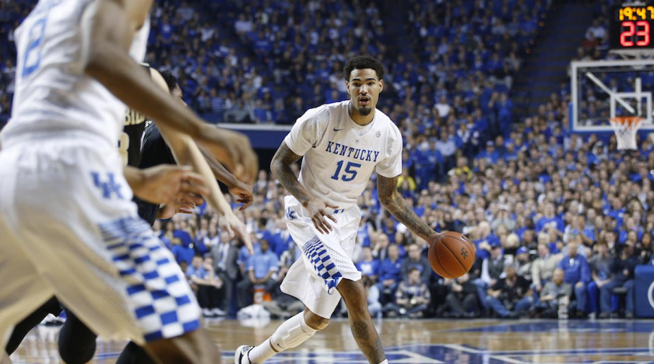 Willie Cauley-Stein and the Kentucky Wildcats are once again No. 1 in the AP Top 25 poll.