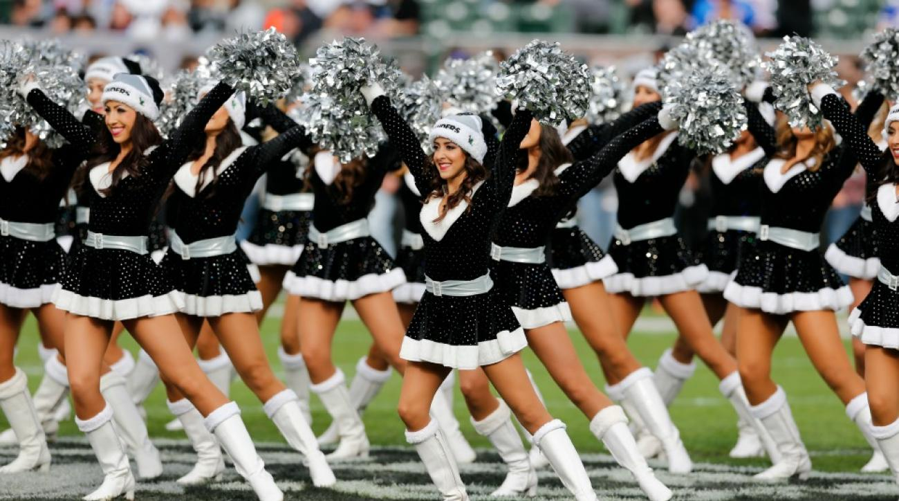 Raiders sued by cheerleaders over pay