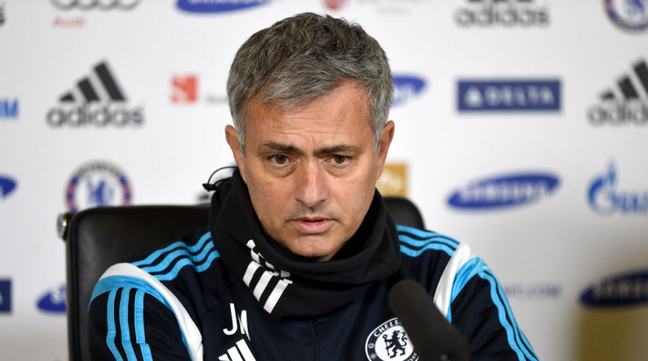 Chelsea manager Jose Mourinho fined