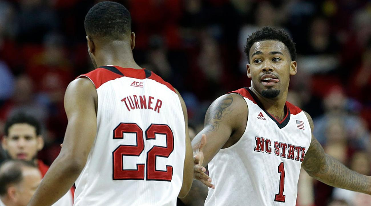 Ralston Turner and Trevor Lacey, N.C. State Wolfpack