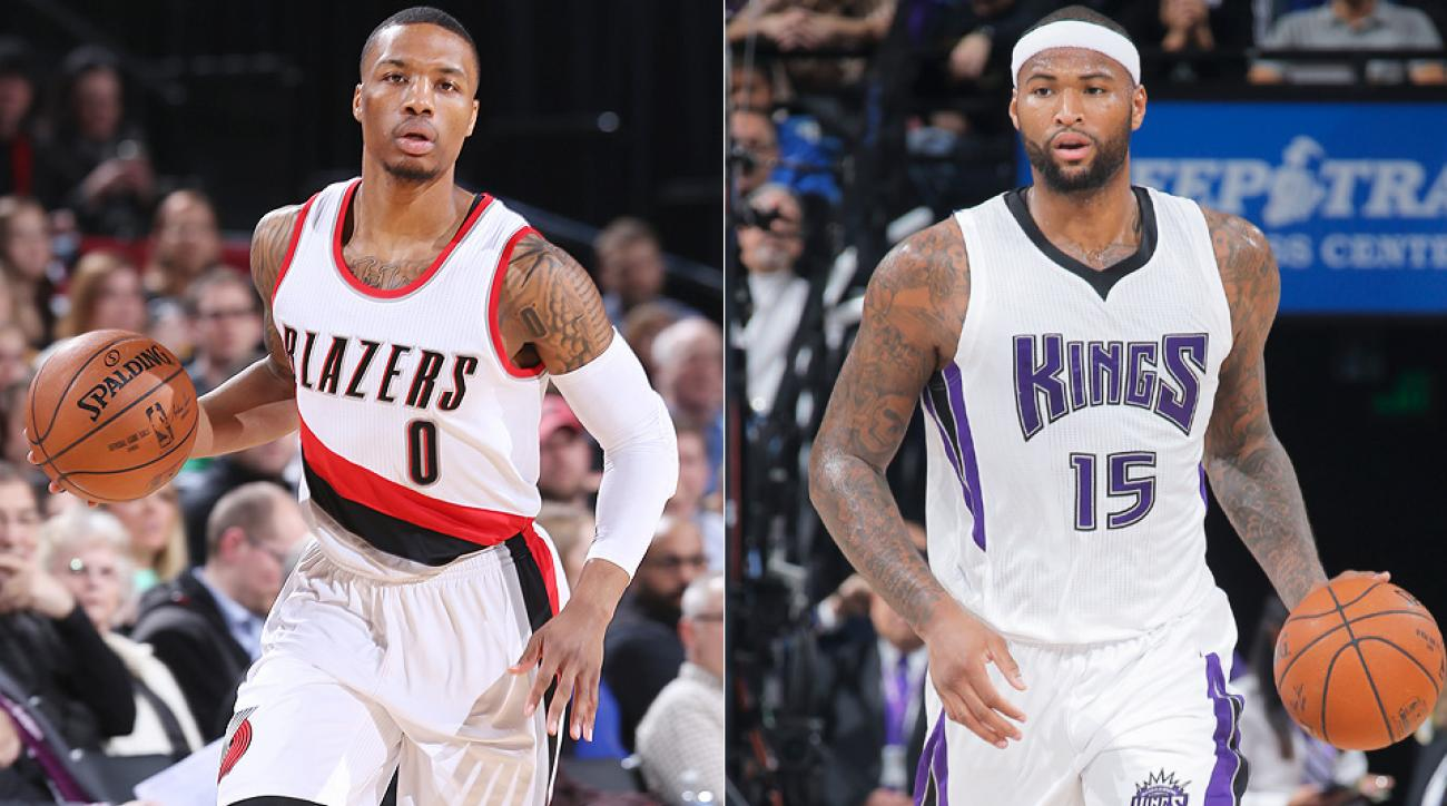 Damian Lillard, DeMarcus Cousins headline NBA All-Star Game snubs.
