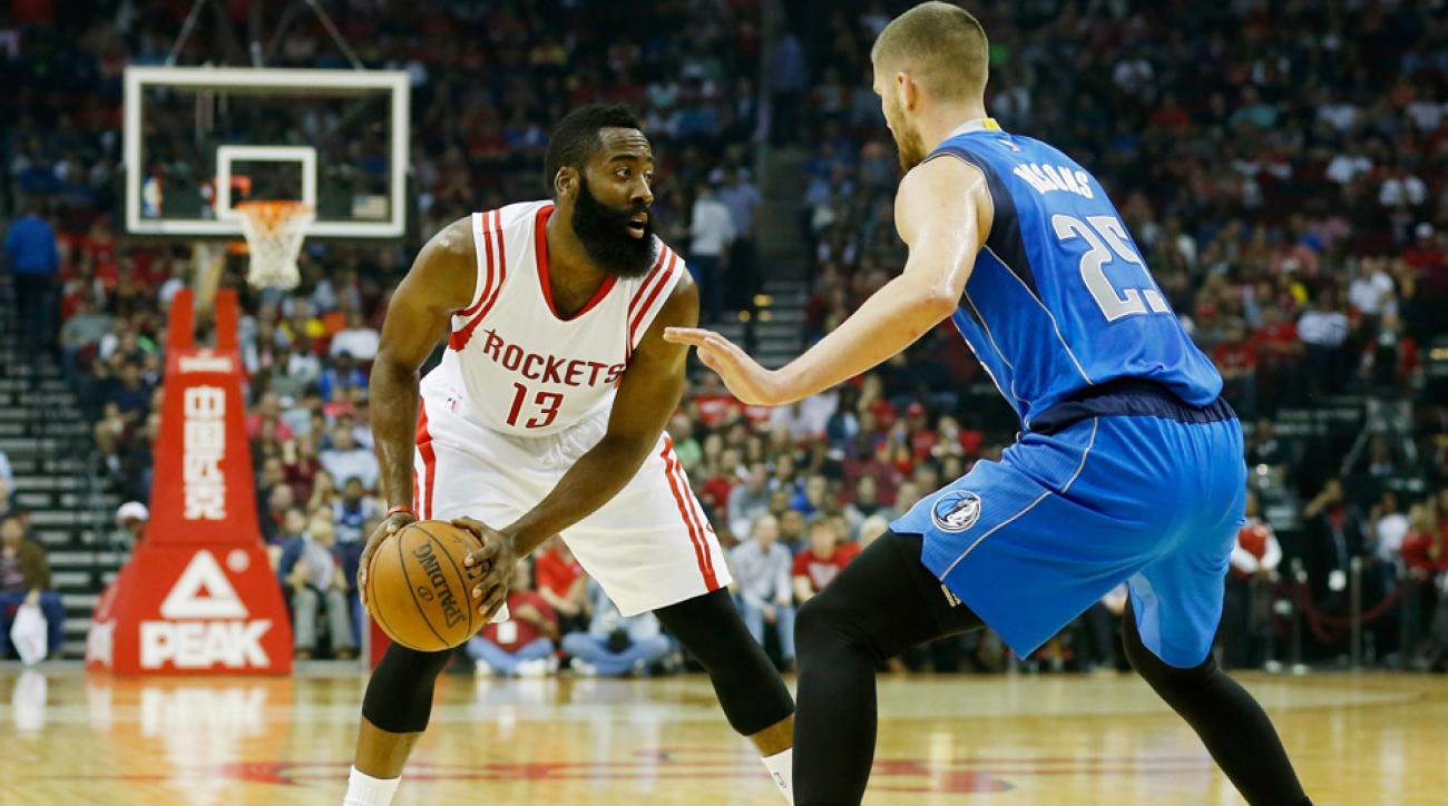 Parsons says Harden is NBA's best player