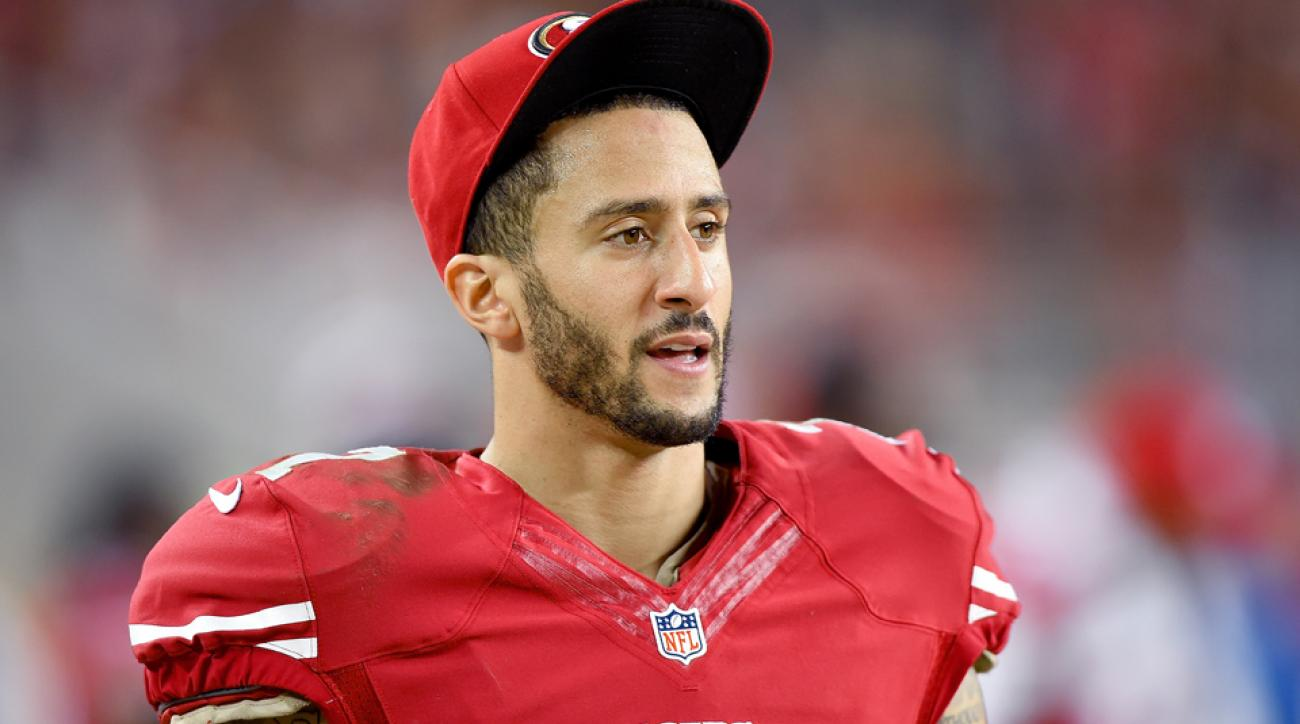 49ers quarterback Colin Kaepernick was fined this season for allegedly using a racial slur in a game.