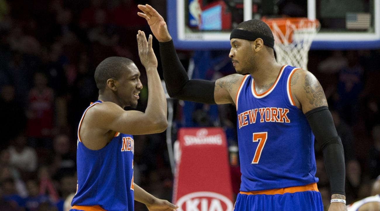 Carmelo compares Galloway to Linsanity