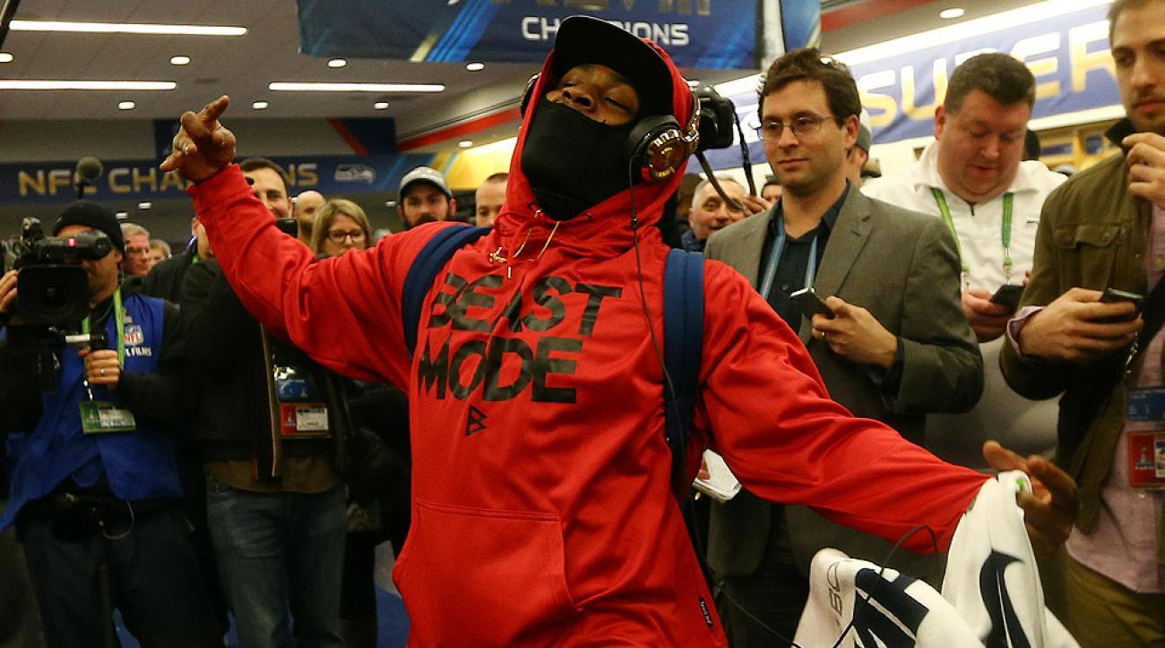 Marshawn Lynch talks Beast Mode, Seattle Seahawks