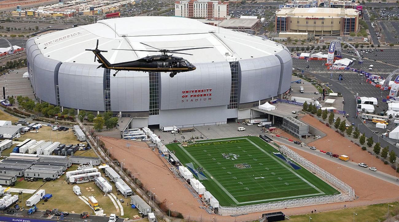 Super Bowl Xlix University Of Phoenix Stadium S