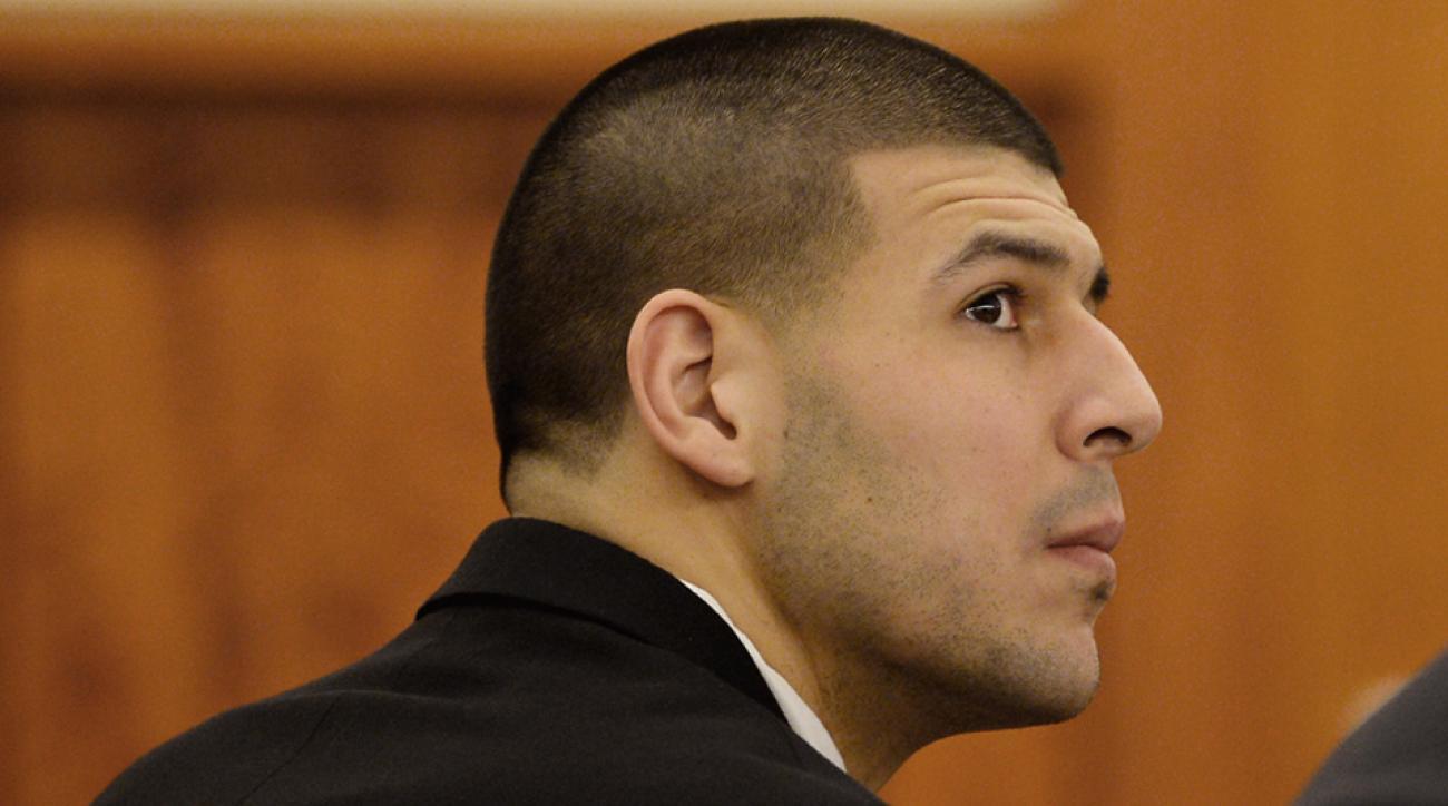 Aaron Hernandez trial photo