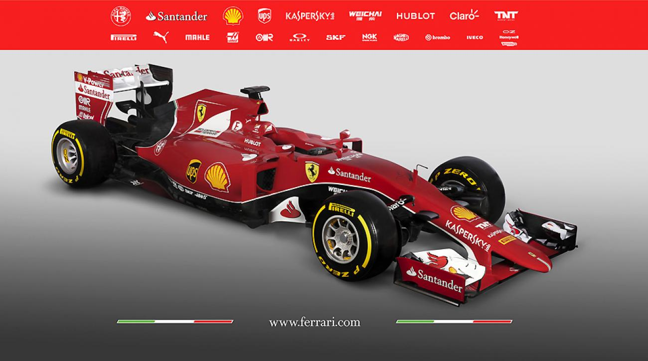 Ferrari new formula one car