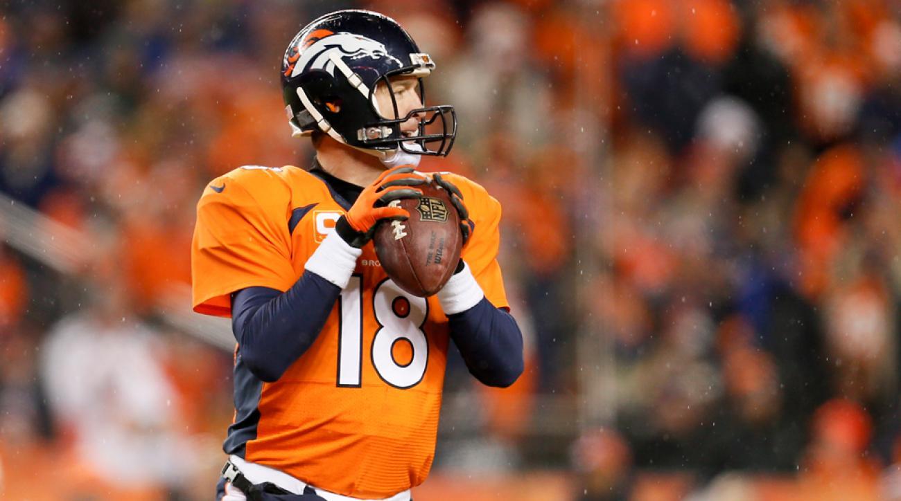 Peyton Manning Denver Broncos QB