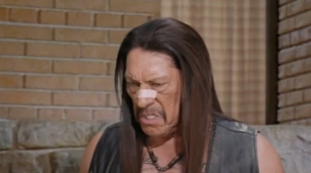 Snickers Super Bowl commercial danny trejo