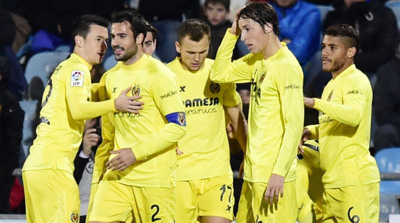 Villarreal advanced to the Copa del Rey semifinals.