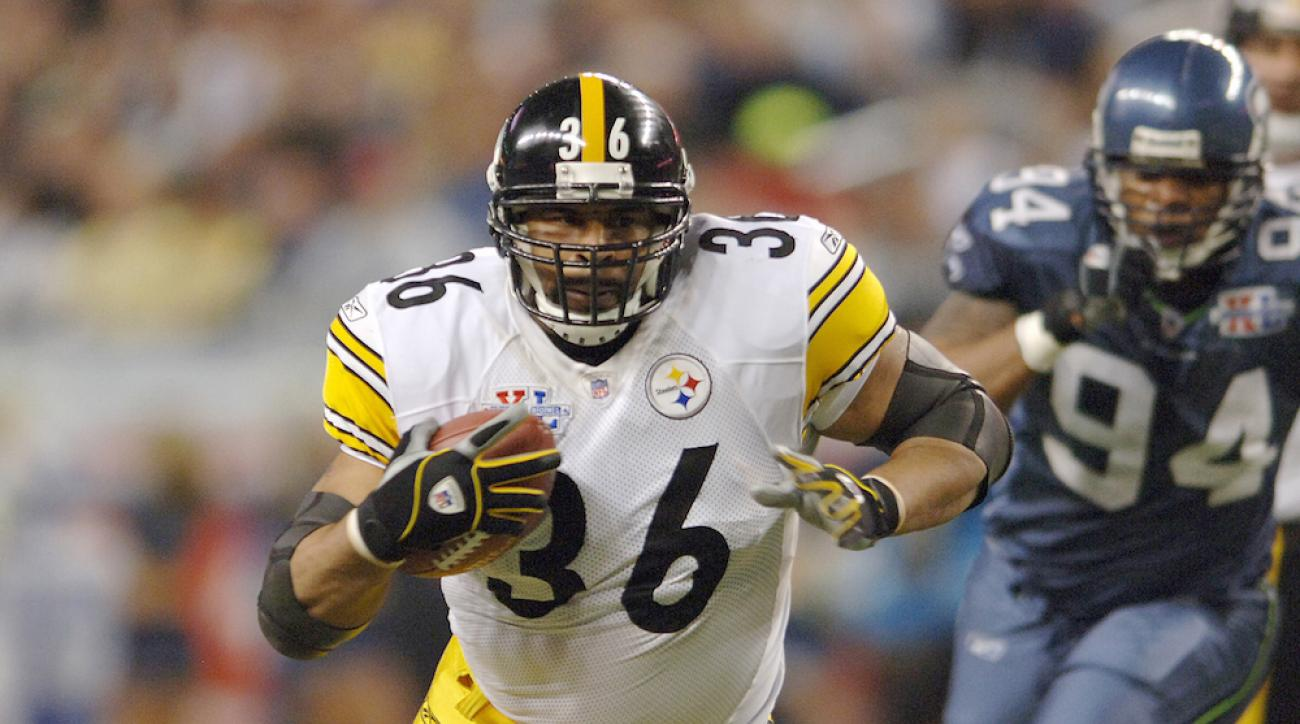 Pittsburgh Steelers Jerome Bettis Hall of Fame 2015