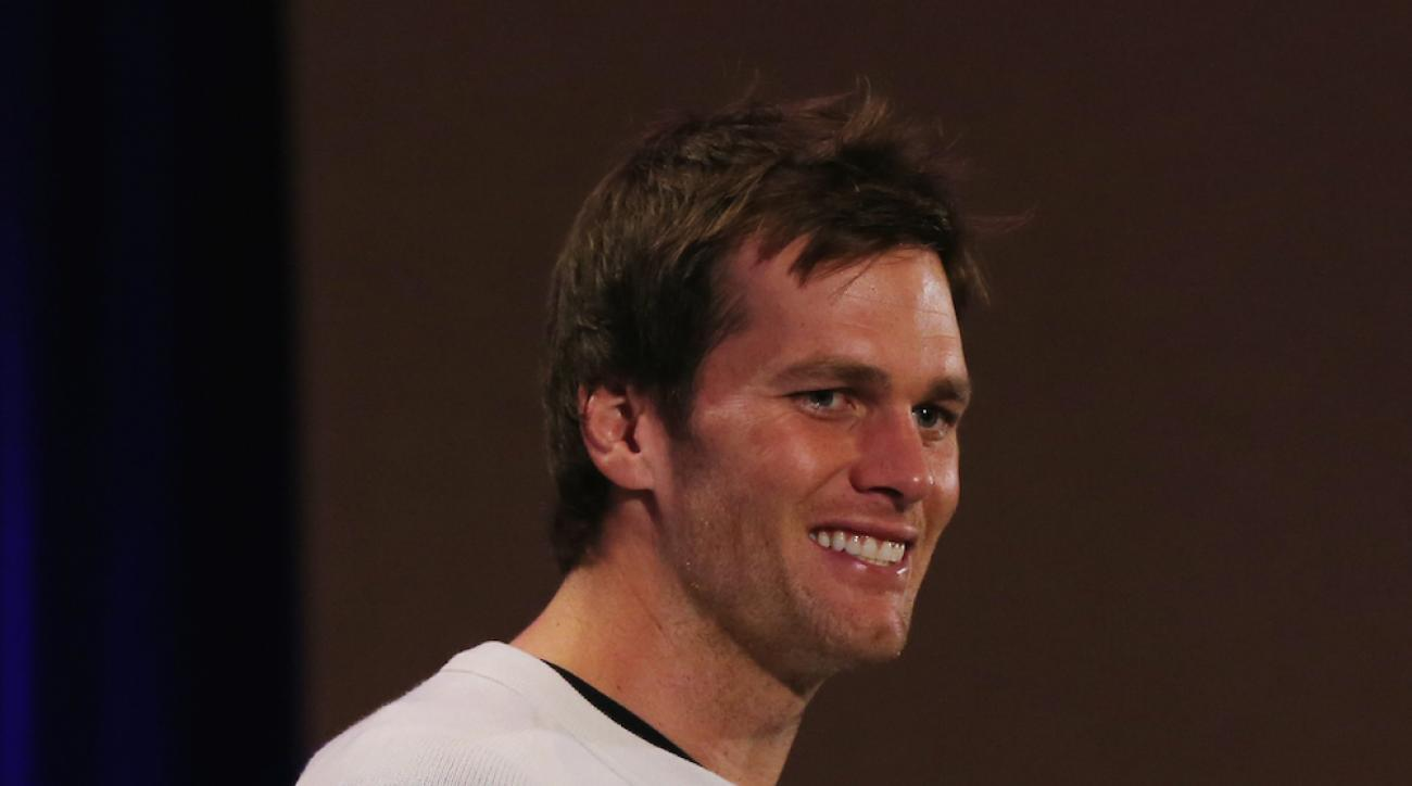 New England Patriots quarterback Tom Brady discusses his pancake recipe ahead of Super Bowl XLIX.