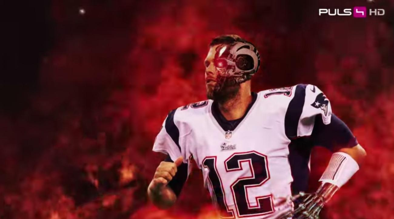 2015 super bowl austrian tv promo terminator tom brady