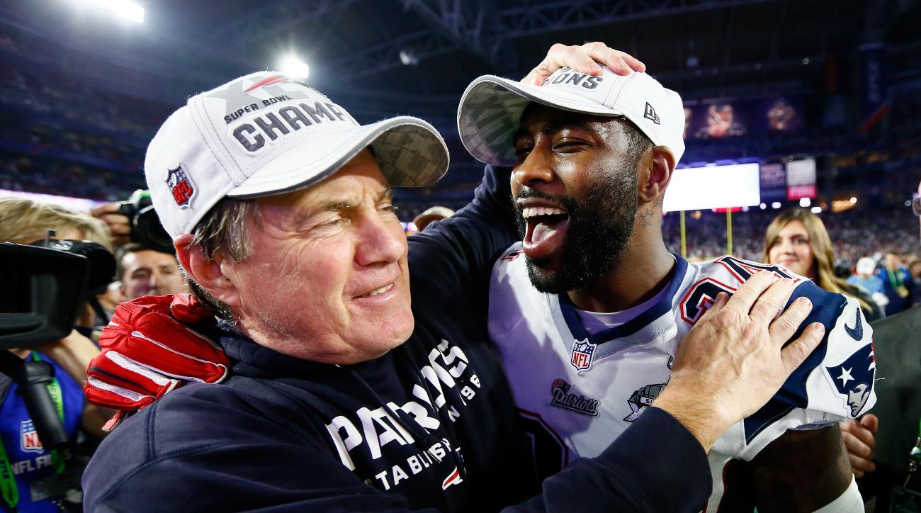 Bill Belichick Super Bowl 2015 New England Patriots champion