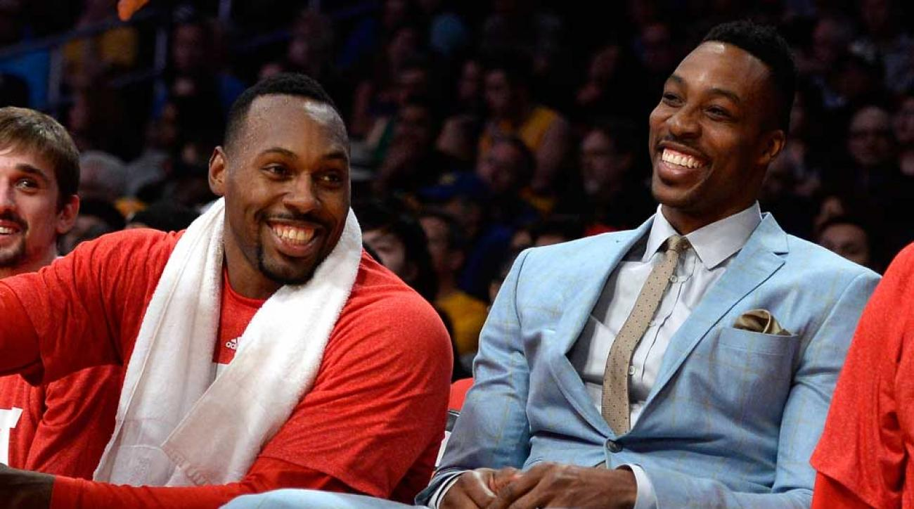 Dwight Howard Houston Rockets status right knee injury edema out for one month