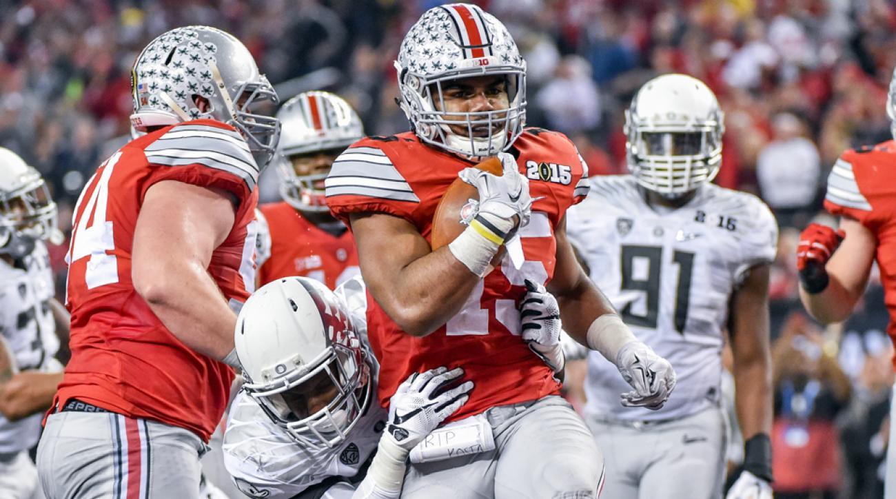 Ezekiel Elliott Ohio State RB