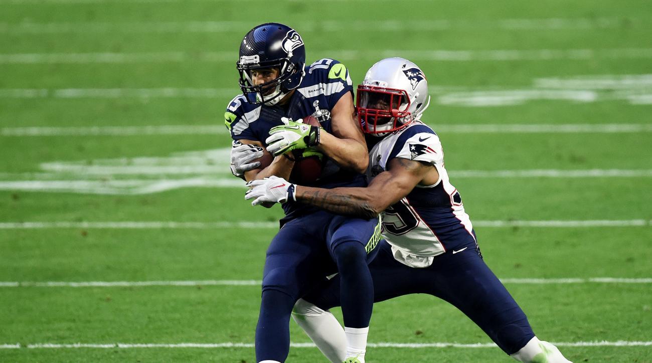 Jermaine Kearse Seattle Seahawks Super Bowl 2015 catch
