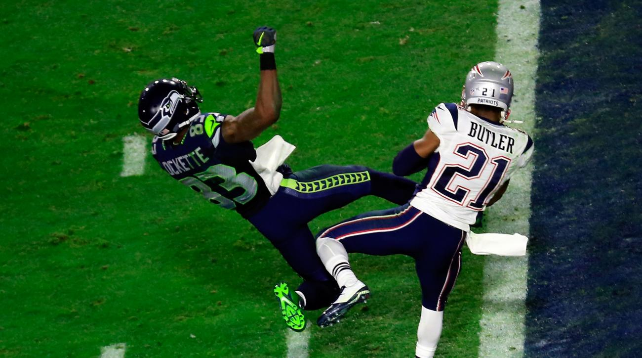 Malcolm Butler New England Patriots 2015 Super Bowl