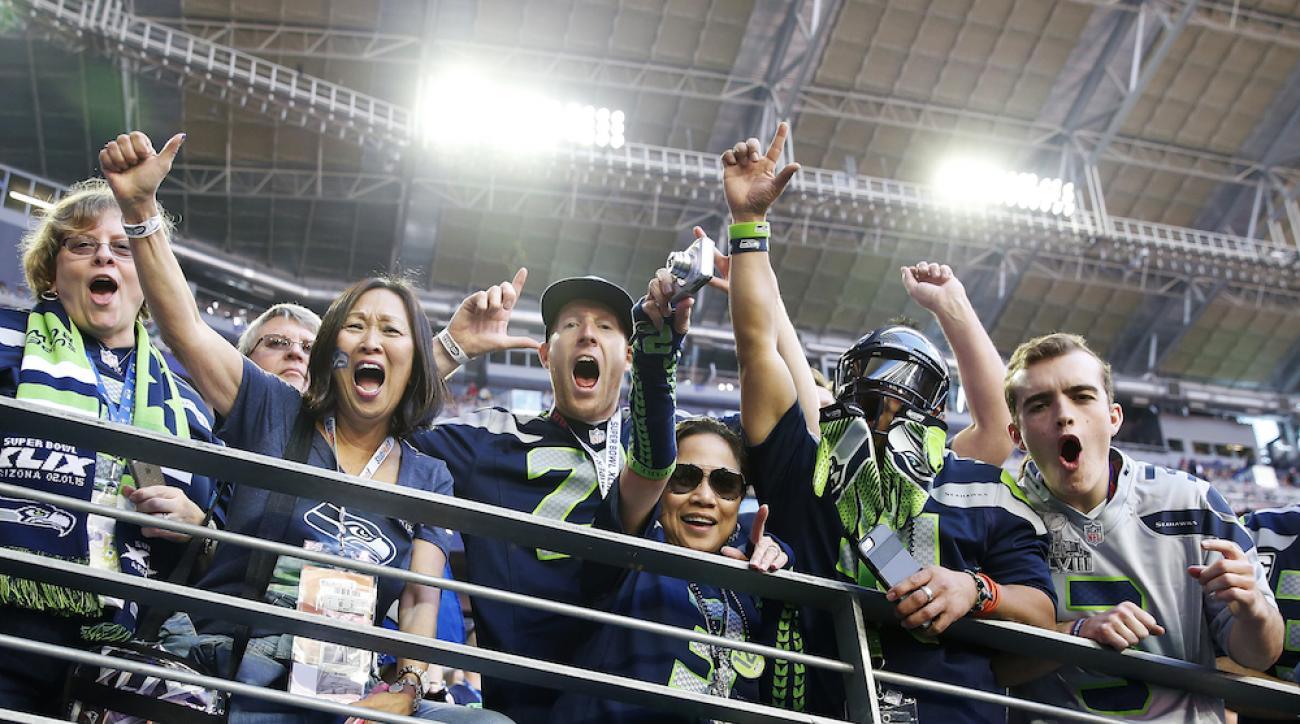 seattle seahawks fans super bowl xlix