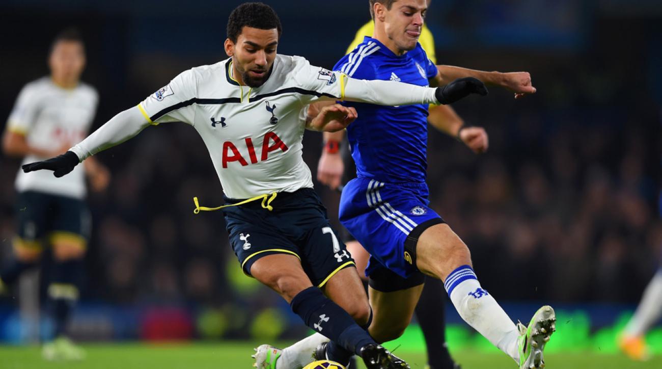 Tottenham winger Aaron Lennon joins Everton on loan | SI.com