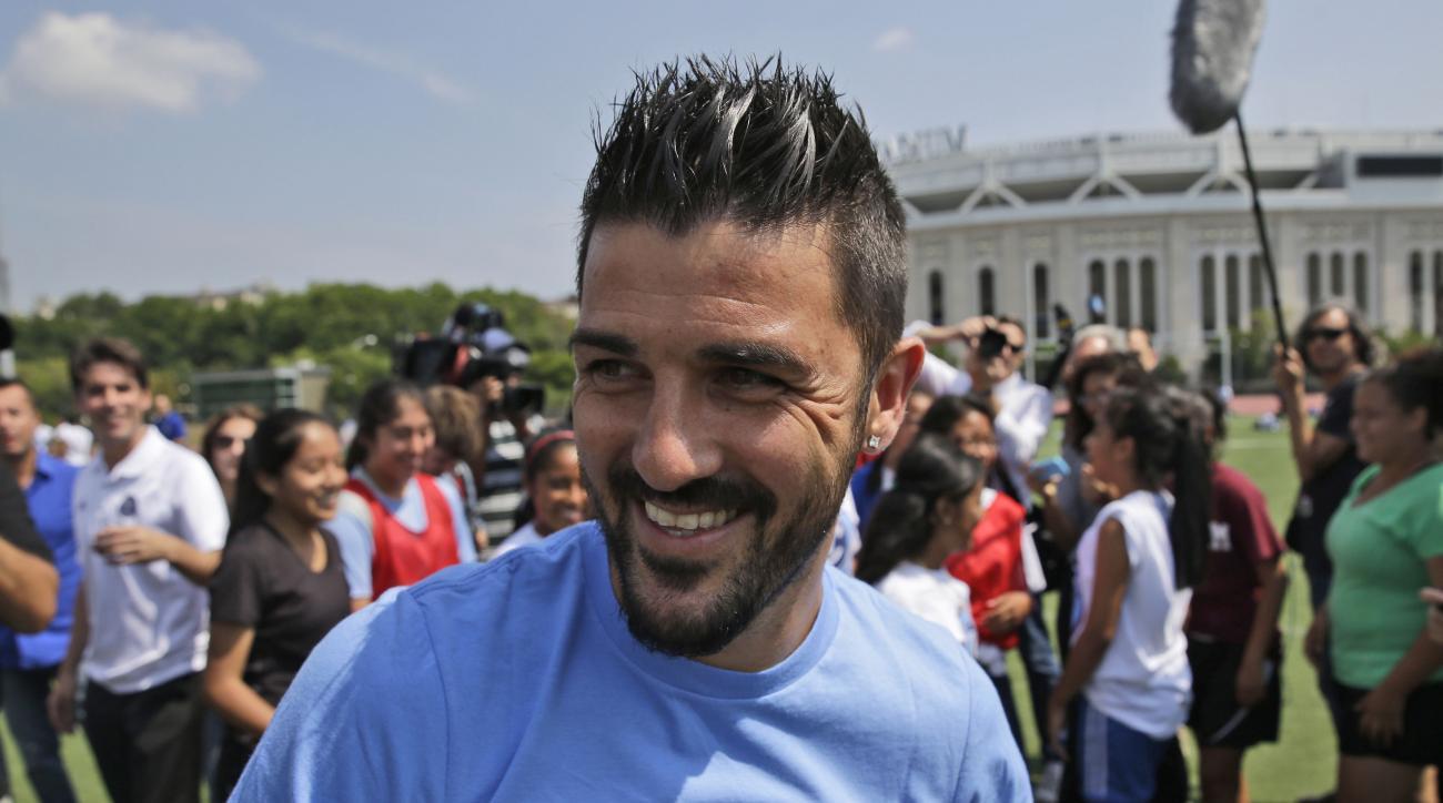 NYCFC David Villa captain
