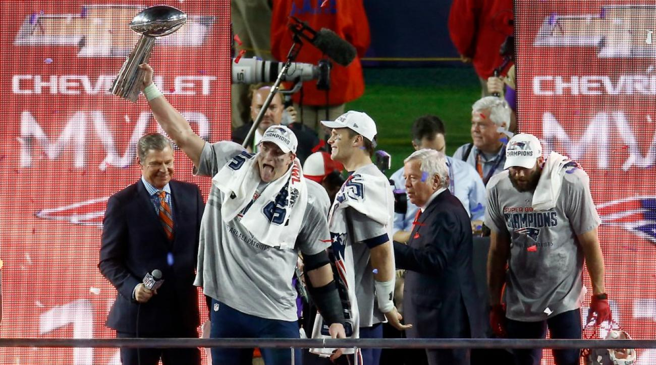 Daily Mail calls Patriots  'Revolution' after Super Bowl win