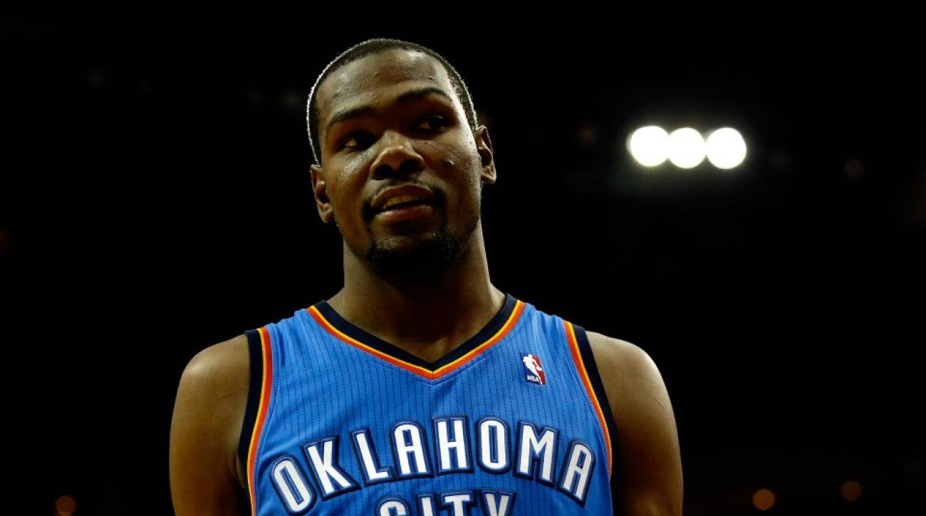 Thunder's kevin Durant owns writer on Twitter
