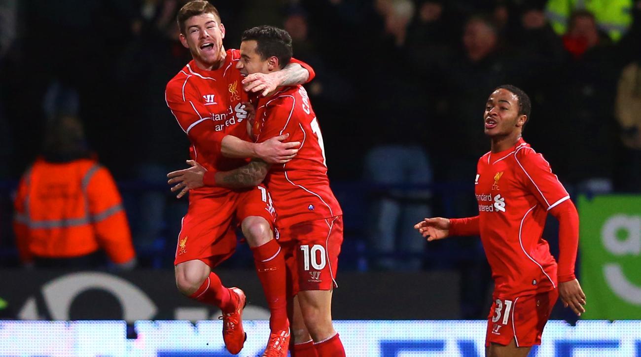 Liverpool defeats Bolton FA Cup
