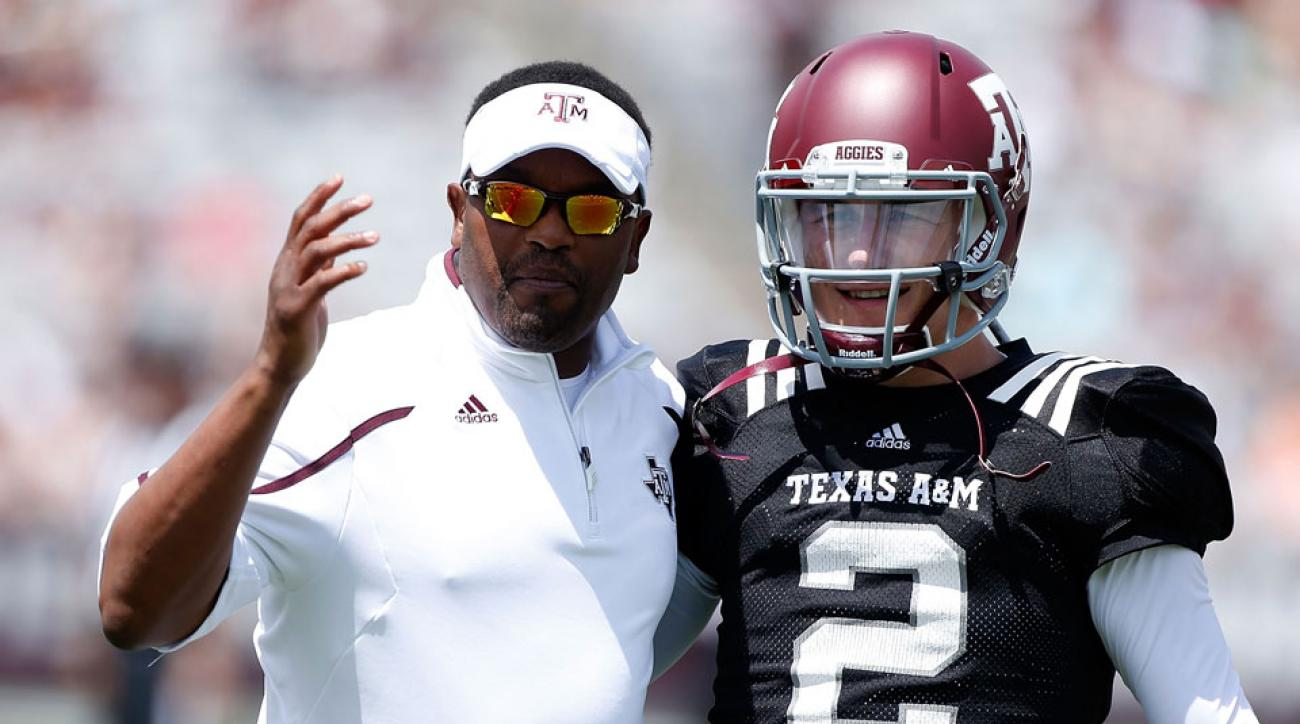 Johnny Manziel and Kevin Sumlin