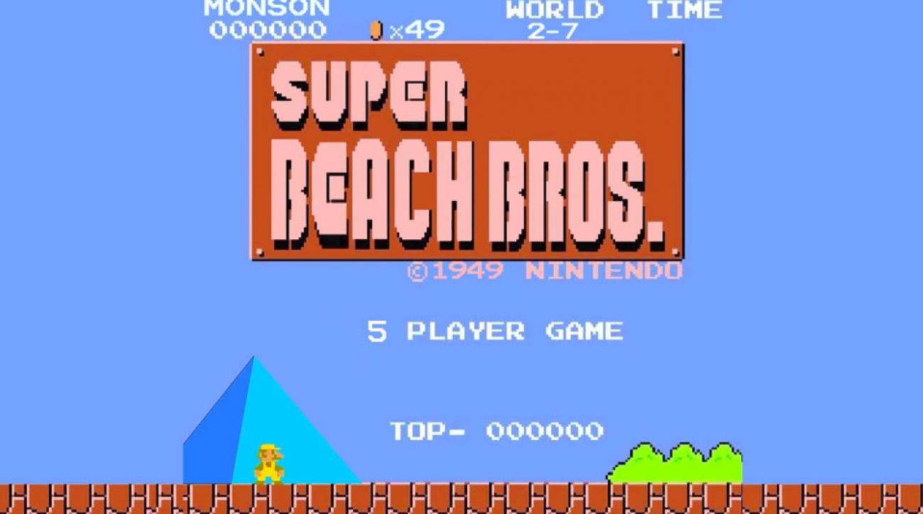 Long Beach State Super Mario Bros. video