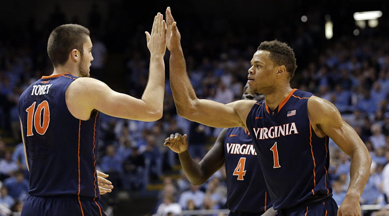 Mike Tobey and Justin Anderson, Virginia Cavaliers