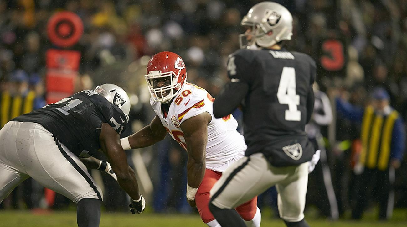 2015 NFL free agents: Justin Houston among best pass rushers