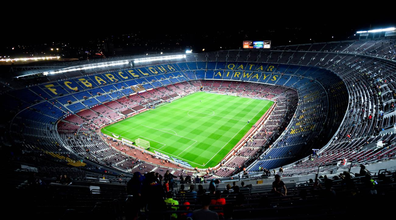 Barcelona Camp Nou name change