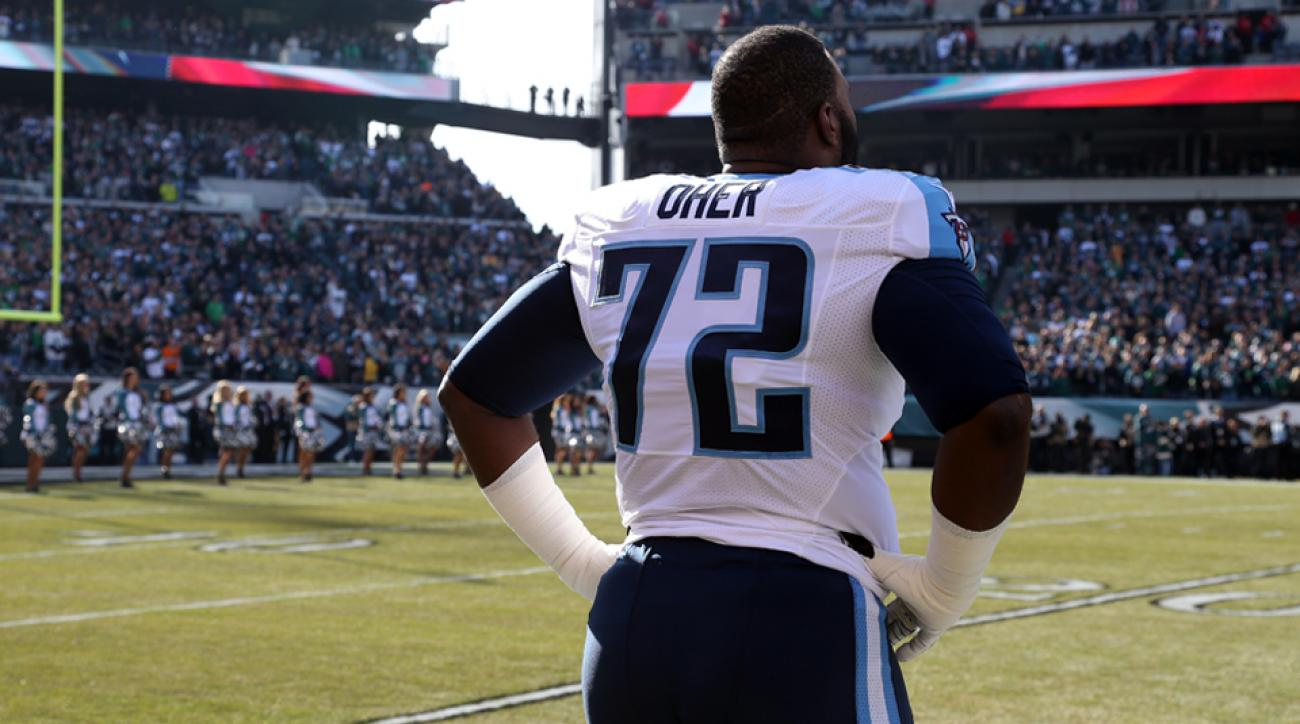 Michael Oher Titans