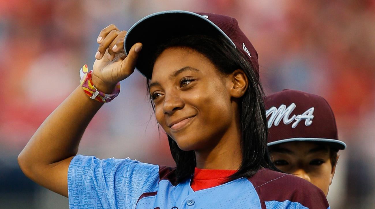 Mo'ne Davis NBA Celebrity All-Star Game