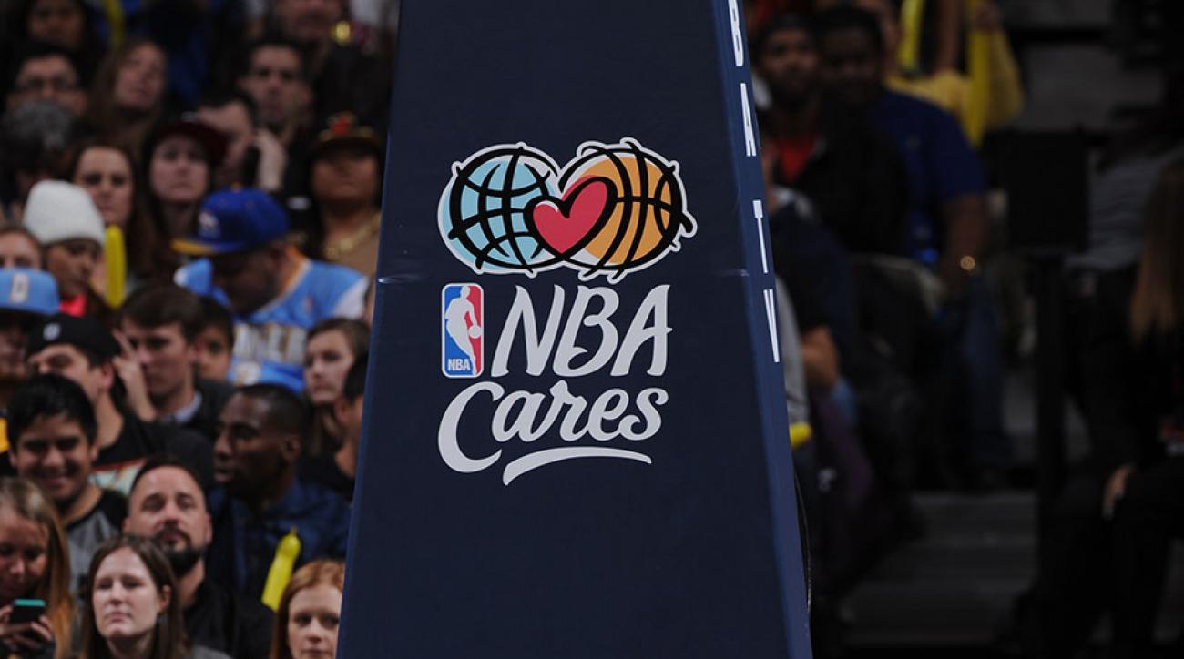 NBA clinic NYC schools