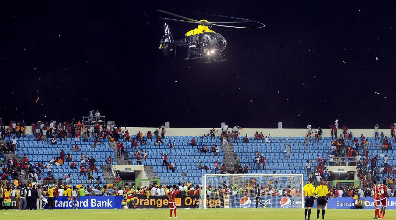 Equatorial Guinea fined for fan violence