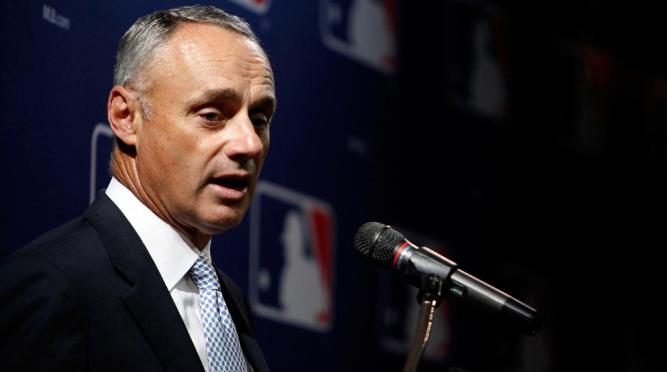 Rob Manfred MLB Commissioner