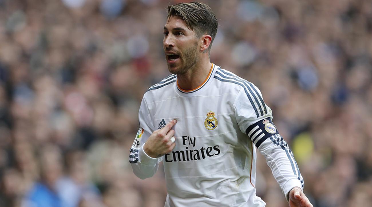 Sergio Ramos Real Madrid FC