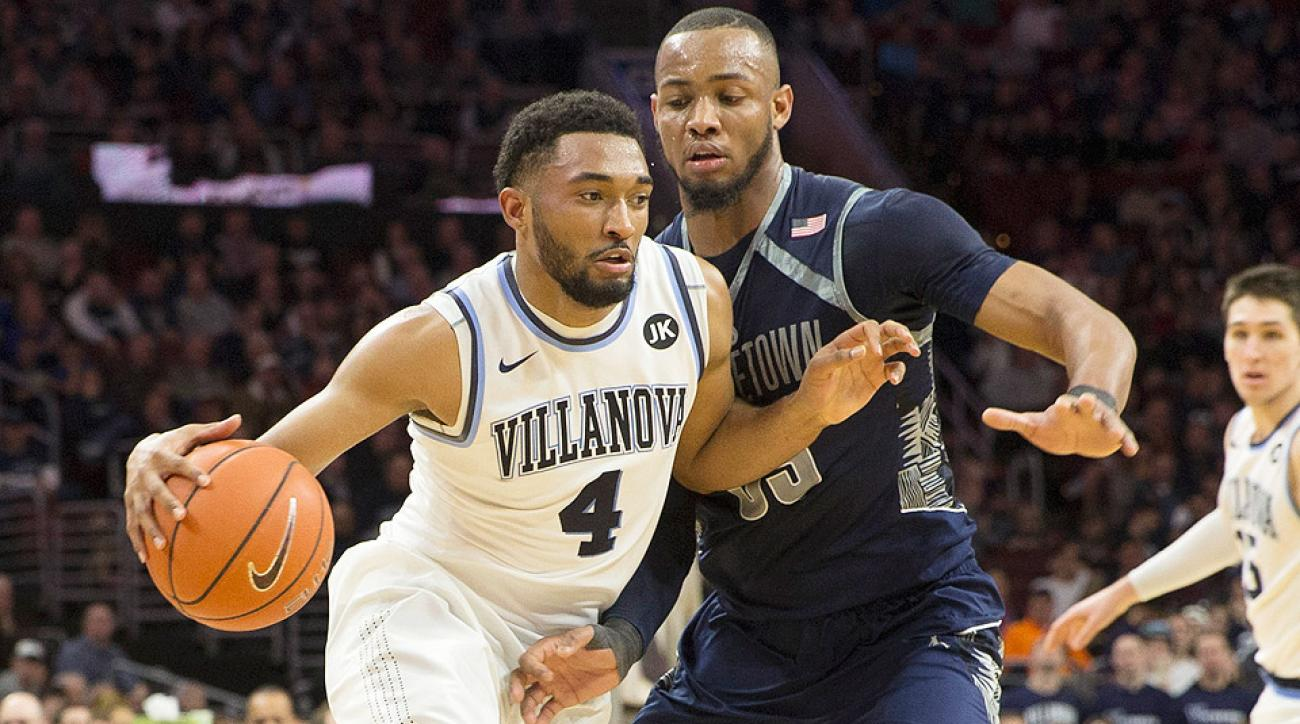 Villanova defeated Georgetown at home on Saturday.