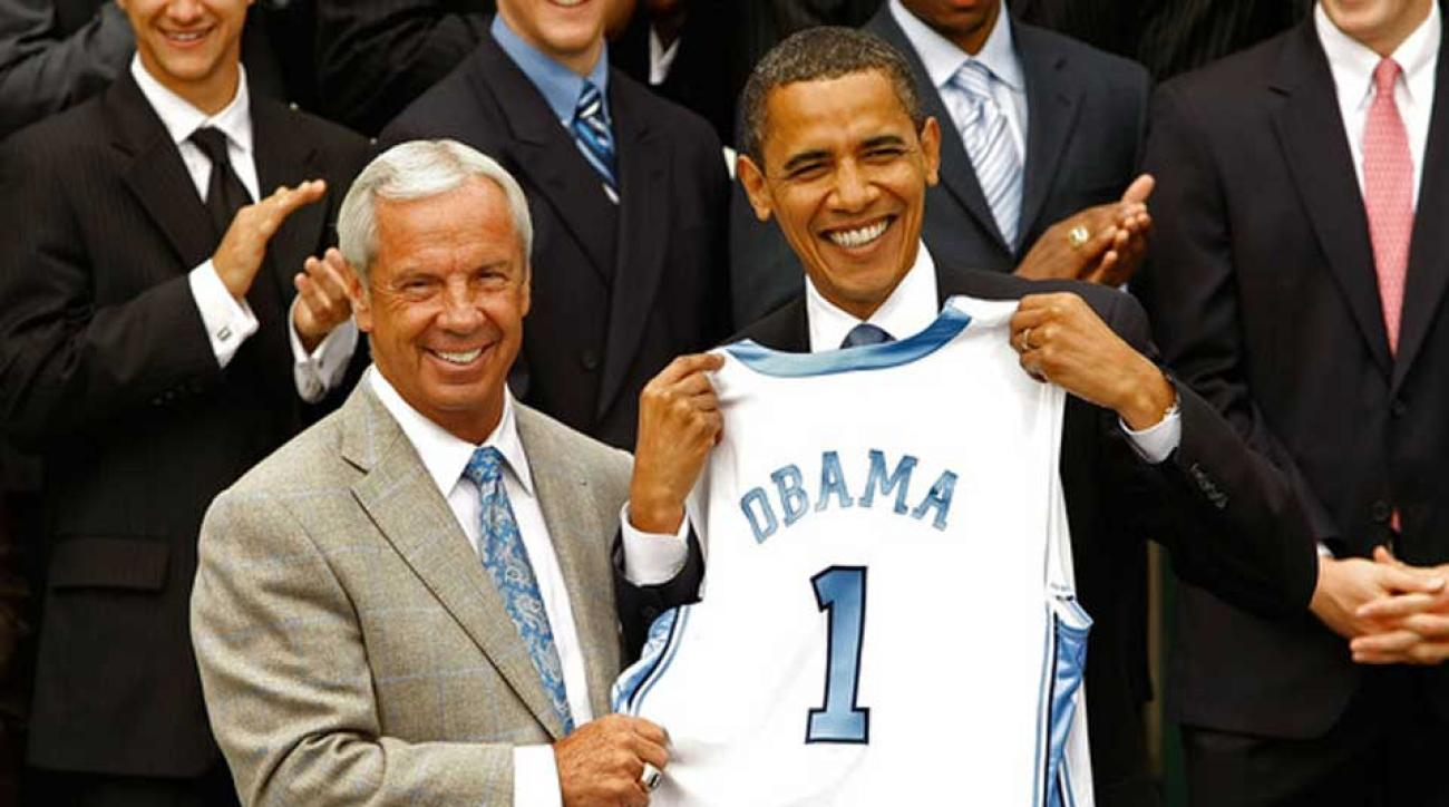 Barack Obama releases statement on death of North Carolina's Dean Smith
