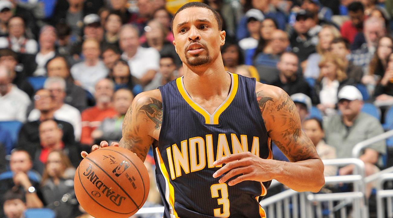 George Hill hit the game-winning layup to beat the Hornets.