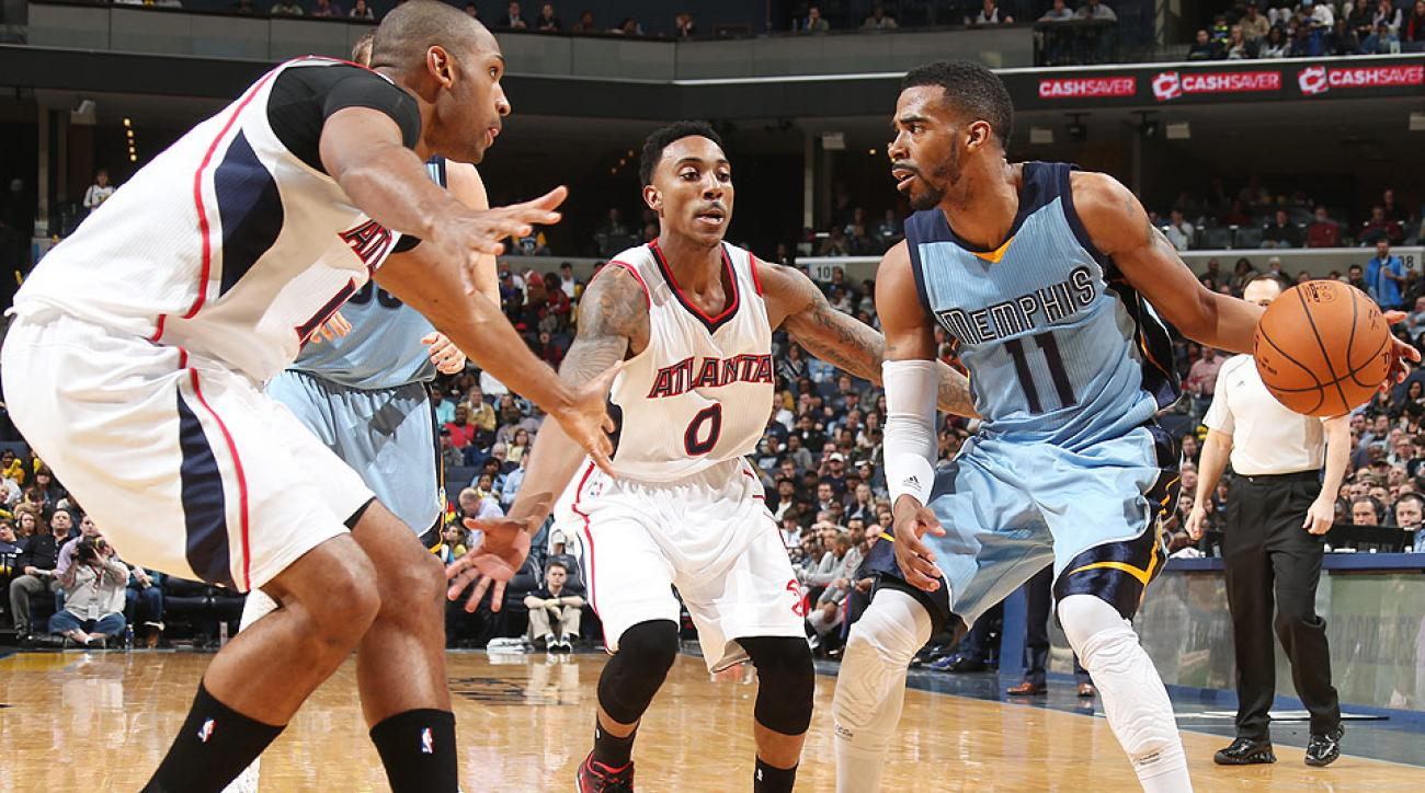 Mike Conley led the Grizzlies to a win against the Hawks.