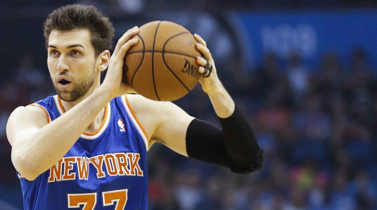 Andrea Bargnani available to play vs. Heat